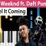 Премьера The Weeknd - i feel it coming ft. Daft Punk (2017)